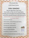Mountainview Child Development Program Holding Food Drive for SCV Food Pantry