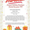 Dec. 2: Santa Clarita Elementary Winter Wonderland Holiday Boutique