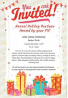 Dec. 2: Santa Clarita Elementary Winter Wonderland Holiday Boutique
