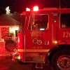 Firefighters Extinguish Valencia House Fire