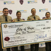 LASD, Local Agencies Donate $325K to City of Hope