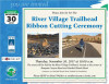 Nov. 30: Ribbon-Cutting to Dedicate River Village Trailhead