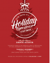 Dec. 7: Acosta to Host Open House, Toy Drive