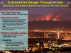 Extreme Fire Danger, High Wind Watch Extended to Friday