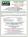 Feb. 10, 17, 24: 3 Day CERT Training in Acton