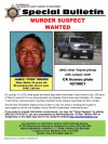 Murder Warrant Issued for Suspect in Palmdale Triple Homicide