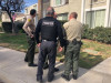 Sheriff's Deputies Check on Addresses of People on Probation