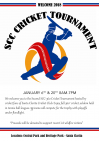 Jan. 6: Santa Clarita Cricket Club Tournament