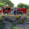 Small Brush Fire in Newhall Quickly Doused