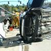 No Injuries in 1-Car Crash at McBean, Copper Hill