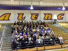Hart District Color Guards Compete at Valencia High School