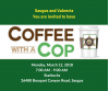 March 12: Coffee with a Cop at Saugus Starbucks