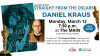 March 12: 'Shape of Water' Co-Author Daniel Kraus to Speak at The MAIN