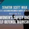 April 7: Wilk, Acosta Host Women's Safety, Self-Defense Workshop