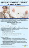 April 28: Family Caregivers Workshop
