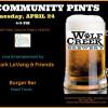 April 24: Community Pints, Taste of the Town Sneak Peek