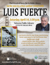 April 14: Author Meet-up With Emmy-Award Winning Cameraman Luis Fuerte