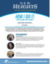 April 26: New Heights Panel Discussion 'How I Did It: Artists Share Their Journey'