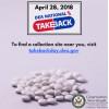 April 28: National Drug Take Back Day