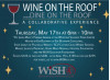 May 17: Wine on the Roof