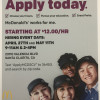 April 27, May 11: Job Fairs at New SCV McDonald's Restaurant