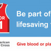 April 26: City, Red Cross Team to Host Community Blood Drive