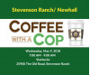 May 9: Coffee with Cops from Newhall, Stevenson Ranch