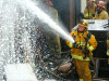 Firefighters Put Out Garage Fire, Save House in Newhall