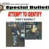 Authorities Seek ID of Suspected Wallet Thief