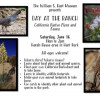 June 16: Open House, 'Day at the Ranch,' at Hart Museum
