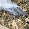 Forward Progress Stopped on Newhall Brush Fire