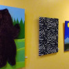 'Pettable Paintings' Now on Display at Newhall Community Center