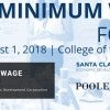 August 1: Minimum Wage Forum at COC University Center