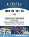 "Aug. 23: New Heights Artist Development Series, ""Taxes and the Artist"""