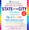 "Oct. 25: ""Santa Clarita – City of the Arts"" State of the City Luncheon"