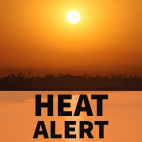 Heat Alert Issued for SCV Through Wednesday