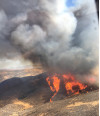 Charlie Fire in Castaic Grows to 3,380 acres, 10% Contained Sunday