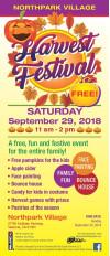 Sept. 29: Northpark Village Harvest Festival