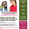Sept. 20: Hart District's PASE Presents 'Every Life Matters'; Preventing Teen Suicides