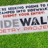City Seeks Original Poems to be Stamped in Concrete