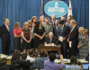 Brown Signs Bill Mandating 100 Percent Clean Energy by 2045