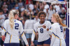 Mustangs Volleyball Team Wins Another Conference Sweep
