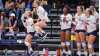 TMU Women's Volleyball Team Sweeps San Diego at Home