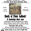 Oct. 20: Fort Tejon Candlelight Ghost Tours