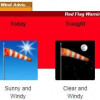 Red Flag Warning Flies in SCV Through Tuesday Night