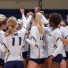 TMU Women's Volleyball Team Advances to GSAC Title Game