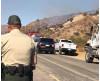 Firefighters Douse Small Brush Fire Near Gorman