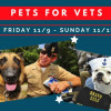 'Pets for Vets' Discounted at County Shelters This Weekend
