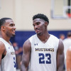 Men's Hoops: TMU Mustangs Turn Up Defensive Pressure to Win