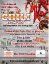 March 21: Annual SCV Charity Chili Cook-Off